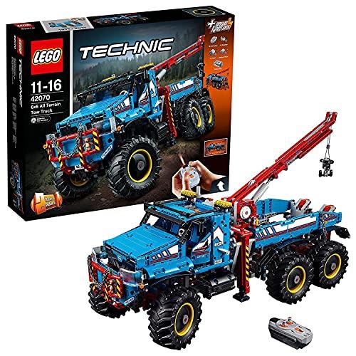 レゴ テクニックシリーズ 42070 LEGO Technic 6x6 All Terrain Tow Truck Set #420070レゴ テクニックシリーズ 42070