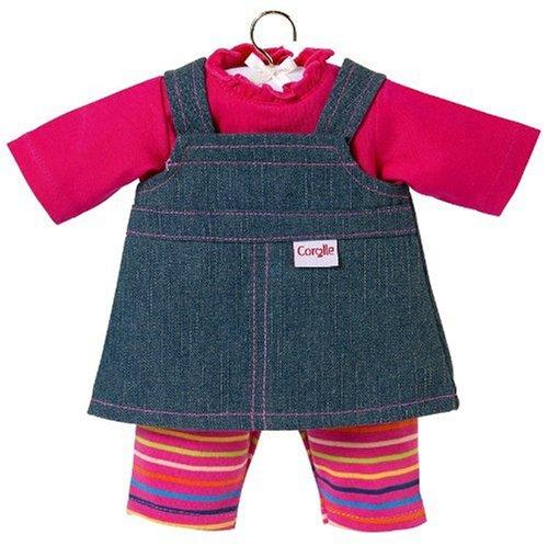 コロール 赤ちゃん 人形 ベビー人形 N9627 Corolle Denim Dress, Baby Dolls 17