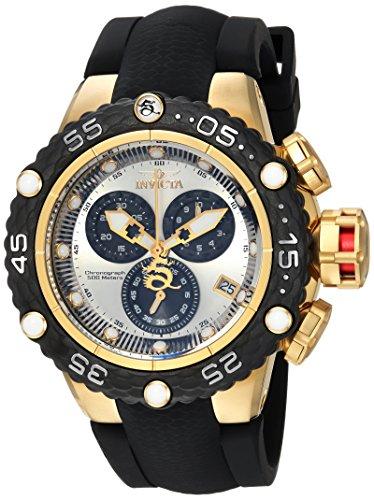 インヴィクタ インビクタ サブアクア 腕時計 メンズ 24445 Invicta Men's Subaqua Stainless Steel Quartz Watch with Silicone Strap, Black, 29 (Model: 24445)インヴィクタ インビクタ サブアクア 腕時計 メンズ 24445