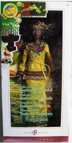 バービー バービー人形 ドールオブザワールド ドールズオブザワールド ワールドシリーズ Barbie Collector Kwanzaa Barbie Festivals of the Worldバービー バービー人形 ドールオブザワールド ドールズオブザワールド ワールドシリーズ