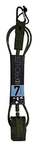 サーフィン リーシュコード マリンスポーツ Pro-Lite Surfboard Leash - Freesurf Size 7'0 (Dark Grey)サーフィン リーシュコード マリンスポーツ