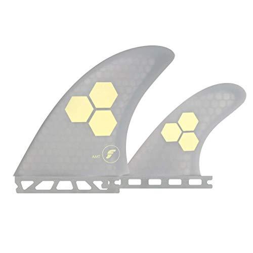 サーフィン フィン マリンスポーツ 【送料無料】New Futures Surf Famt Honeycomb Twin Fin Set Greyサーフィン フィン マリンスポーツ