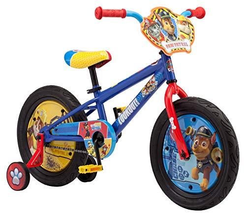 パウパトロール アメリカ直輸入 英語 バイリンガル育児 おもちゃ R0672 Nickelodeon Paw Patrol Boy's Bicycle with Training Wheels, 16-Inch Wheelsパウパトロール アメリカ直輸入 英語 バイリンガル育児 おもちゃ R0672