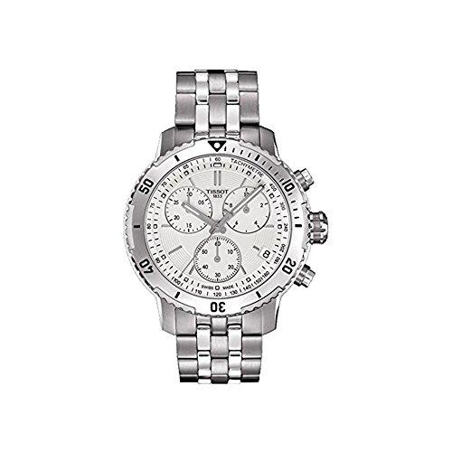 ティソ 腕時計 メンズ T067.417.11.031.01 【送料無料】Tissot PRS 200 Chronograph Silver Dial Men's Watch T067.417.11.031.01ティソ 腕時計 メンズ T067.417.11.031.01