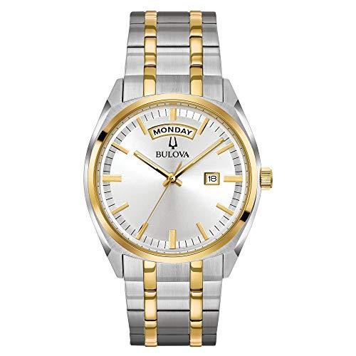 ブローバ 腕時計 メンズ 98C127 【送料無料】Bulova Men's Classic Quartz Watch with Stainless-Steel Strap, Two Tone, 22 (Model: 98C127)ブローバ 腕時計 メンズ 98C127