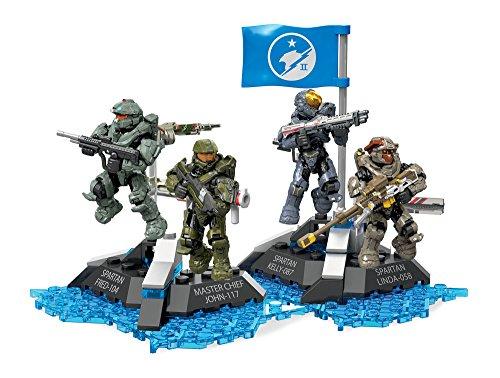 メガブロック メガコンストラックス ヘイロー 組み立て 知育玩具 DYH87 Mega Construx Halo Ultimate Blue Team Building Setメガブロック メガコンストラックス ヘイロー 組み立て 知育玩具 DYH87