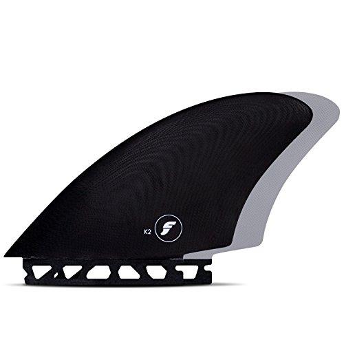 サーフィン フィン マリンスポーツ 【送料無料】Futures Fins - FK2 Glass KEEL - Black/Greyサーフィン フィン マリンスポーツ