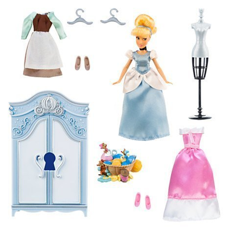 シンデレラ ディズニープリンセス Disney Cinderella Wardrobe Doll Play Setシンデレラ ディズニープリンセス