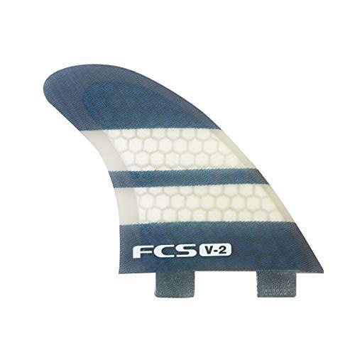サーフィン フィン マリンスポーツ V-2 PC TRI-QUAD 5FIN 【送料無料】FCS V2 Performance Core TriQuad Fin Medium Mediumサーフィン フィン マリンスポーツ V-2 PC TRI-QUAD 5FIN