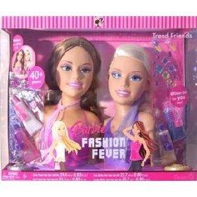 バービー バービー人形 スタイリングヘッド スタイルヘッド スタイルドールヘッド L6489 Mattel Barbie Fashion Fever Styling Headsバービー バービー人形 スタイリングヘッド スタイルヘッド スタイルドールヘッド L6489