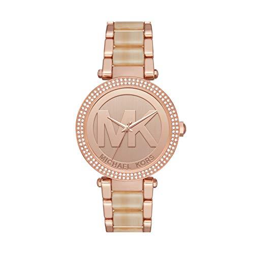 マイケルコース 腕時計 レディース マイケル・コース アメリカ直輸入 MK6530 Michael Kors Women's Parker Quartz Watch with Stainless-Steel Strap, Rose Gold, 20 (Model: MK6530)マイケルコース 腕時計 レディース マイケル・コース アメリカ直輸入 MK6530