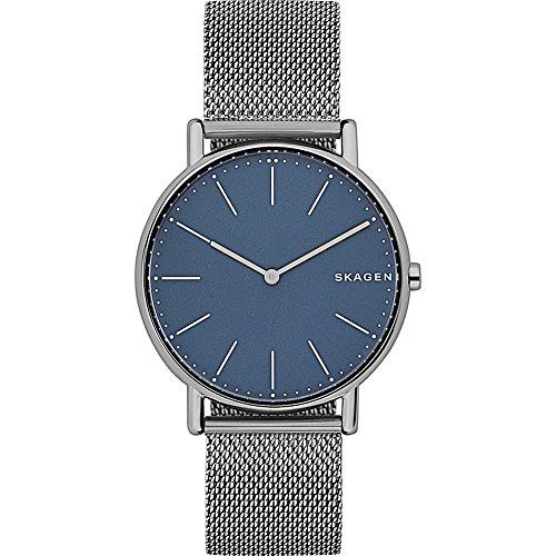 スカーゲン 腕時計 メンズ SKW6420 Skagen Men's Signatur Analog-Quartz Watch with Titanium Strap, Grey, 20 (Model: SKW6420)スカーゲン 腕時計 メンズ SKW6420