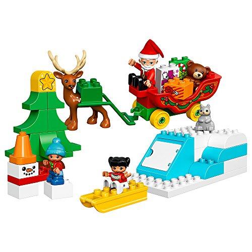 レゴ デュプロ 6175773 LEGO Duplo Town Santa's Winter Holiday 10837 Building Kitレゴ デュプロ 6175773