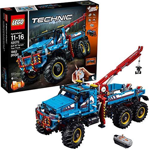 レゴ テクニックシリーズ 6175732 【送料無料】LEGO Technic 6x6 All Terrain Tow Truck 42070 Building Kit (1862 Pieces) (Discontinued by Manufacturer)レゴ テクニックシリーズ 6175732