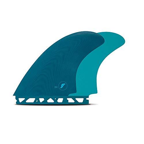 サーフィン フィン マリンスポーツ 【送料無料】Future Fins EN Fiberglass Twin Fin Set, Tealサーフィン フィン マリンスポーツ