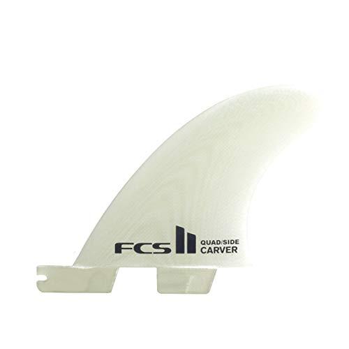 サーフィン フィン マリンスポーツ FCS II Carver Performance Glass Quad Rear Fin Small Naturalサーフィン フィン マリンスポーツ