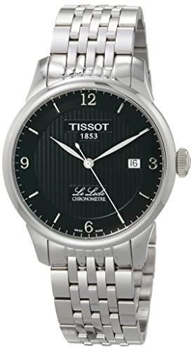 ティソ 腕時計 メンズ T0064081105700 【送料無料】Tissot Mens Le Locle Chronometre Black Dial Mens Watch T006.408.11.057.00ティソ 腕時計 メンズ T0064081105700
