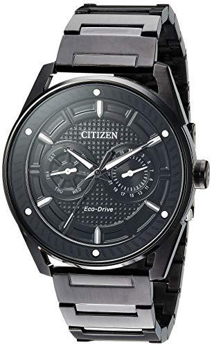 【即納】【送料無料】当店1年保証 Citizen シチズン メンズ腕時計 BU4025-59E エコドライブ ブラック ケース直径42mm バンド幅44mm (外箱は画像と異なる角型です)