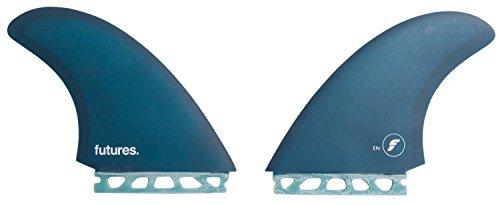 サーフィン フィン マリンスポーツ New Futures Surf En Honeycomb Twin Fin Set Soft Blueサーフィン フィン マリンスポーツ
