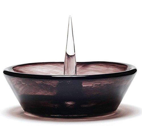 灰皿 海外モデル アメリカ 輸入物 Debowler Glass Soft Glass Ashtray (Black)灰皿 海外モデル アメリカ 輸入物