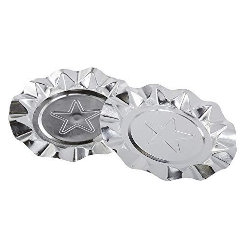 灰皿 海外モデル アメリカ 輸入物 LA201P-IN Royal Silver Star Aluminum Ashtrays, Package of 100灰皿 海外モデル アメリカ 輸入物 LA201P-IN