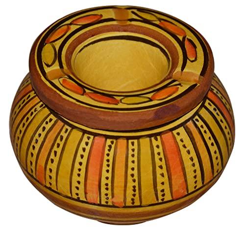灰皿 海外モデル アメリカ 輸入物 【送料無料】Moroccan Smokeless Ashtray Hand Made Small灰皿 海外モデル アメリカ 輸入物