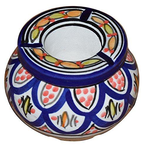 灰皿 海外モデル アメリカ 輸入物 【送料無料】Moroccan smockless hand made Ashtray灰皿 海外モデル アメリカ 輸入物