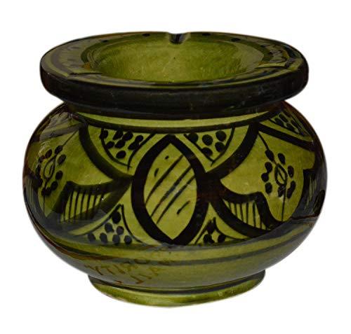 灰皿 海外モデル アメリカ 輸入物 【送料無料】Ceramic Ashtrays Hand Made Moroccan smokeless Ceramic Vivid Colors Small灰皿 海外モデル アメリカ 輸入物