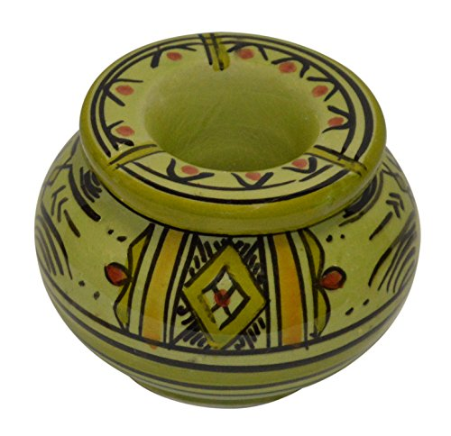 灰皿 海外モデル アメリカ 輸入物 Small Moroccan Handmade Ceramic Ashtrays Smokeless Cigar Exquisite design with Vivid Colors Small灰皿 海外モデル アメリカ 輸入物 Small