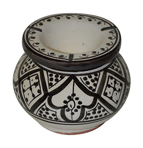 灰皿 海外モデル アメリカ 輸入物 Medium Ashtray Moroccan Smockless Ashtray Hand Made Medium灰皿 海外モデル アメリカ 輸入物 Medium Ashtray