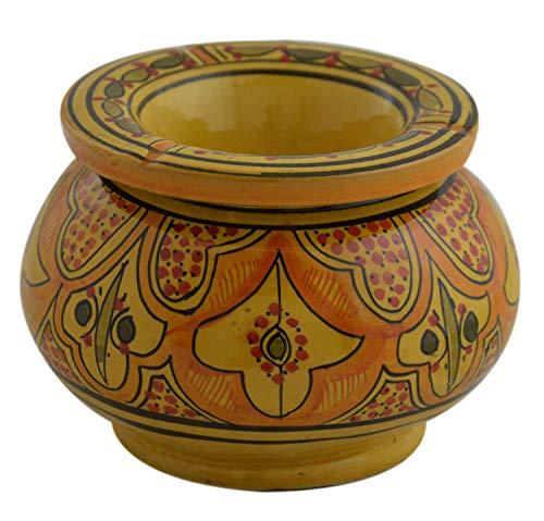 灰皿 海外モデル アメリカ 輸入物 Ceramic Ashtrays Moroccan Handmade Smokeless Cigar Exquisite Design with Vivid Colors X-Large灰皿 海外モデル アメリカ 輸入物