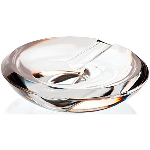 灰皿 海外モデル アメリカ 輸入物 GC00056 【送料無料】CRISTALICA Crystal Ashtray, Cigarette Ashtray, Outdoor Ashtray, Garden Ashtray, Crystal Ashtray, Collection Casablanca, 15 cm, Transparent (German Cryst灰皿 海外モデル アメリカ 輸入物 GC00056
