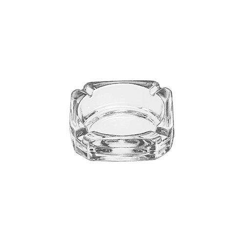 灰皿 海外モデル アメリカ 輸入物 5143 LIB5143 - Libbey glassware Square Ashtray - 3.75 in. - Glass灰皿 海外モデル アメリカ 輸入物 5143
