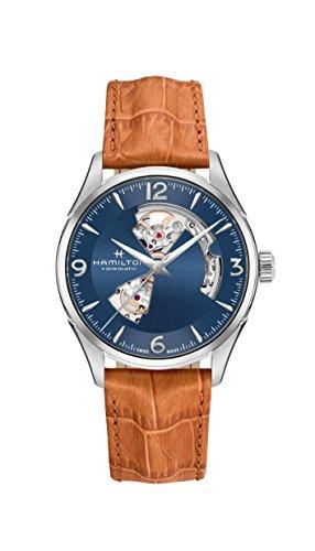 腕時計 ハミルトン メンズ H32705541 【送料無料】Hamilton Jazzmaster Open Heart Automatic Men's Leather Watch H32705541腕時計 ハミルトン メンズ H32705541