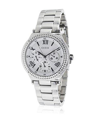 ゲス GUESS 腕時計 レディース W0331L1 【送料無料】Guess W0331L1 35mm Silver Steel Bracelet & Case Women's Watchゲス GUESS 腕時計 レディース W0331L1