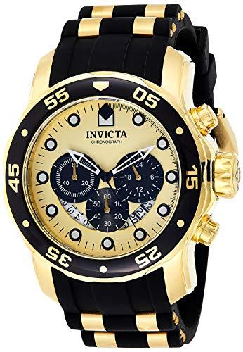 インヴィクタ インビクタ プロダイバー 腕時計 メンズ 24852 Invicta Men's Pro Diver Stainless Steel Quartz Watch with Silicone Strap, Black, 26 (Model: 24852)インヴィクタ インビクタ プロダイバー 腕時計 メンズ 24852