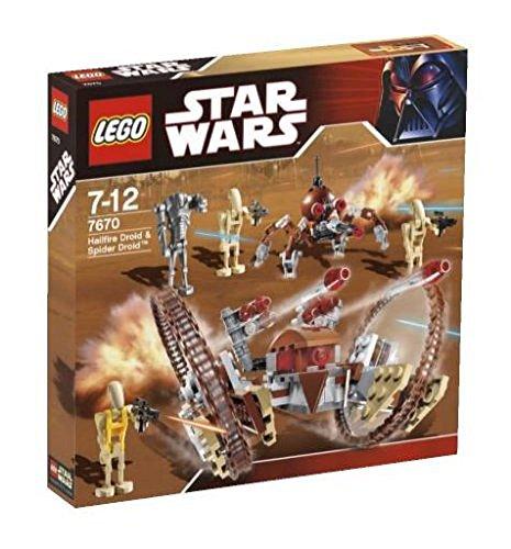 レゴ スターウォーズ 169230 【送料無料】LEGO 7670 - Star Wars: Hailfire Droid and Spider Droidレゴ スターウォーズ 169230