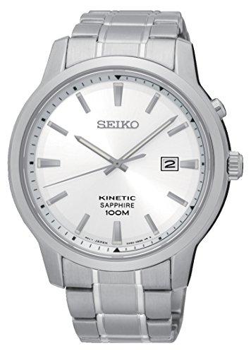 セイコー 腕時計 メンズ 夏のボーナス特集 Kinetic Seiko Mens Analogue Quartz Watch with Stainless Steel Strap SKA739P1セイコー 腕時計 メンズ 夏のボーナス特集 Kinetic