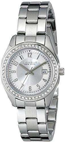ブローバ 腕時計 レディース 43M108 Caravelle New York Women's 43M108 Analog Display Analog Quartz White Watchブローバ 腕時計 レディース 43M108