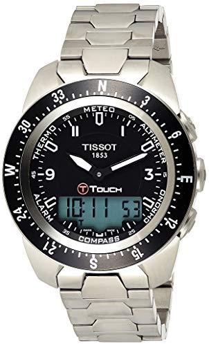 ティソ 腕時計 メンズ T0134204405700 【送料無料】Tissot Men's T0134204405700 T-Touch Expert Pilot Black Touch Analog-Digital Dial Watchティソ 腕時計 メンズ T0134204405700
