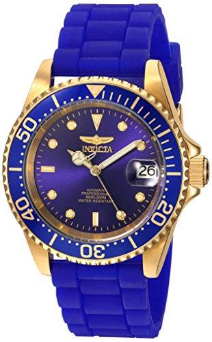 インヴィクタ インビクタ プロダイバー 腕時計 メンズ 23682 【送料無料】Invicta Men's Pro Diver Automatic-self-Wind Watch with Silicone Strap, Blue, 19 (Model: 23682)インヴィクタ インビクタ プロダイバー 腕時計 メンズ 23682
