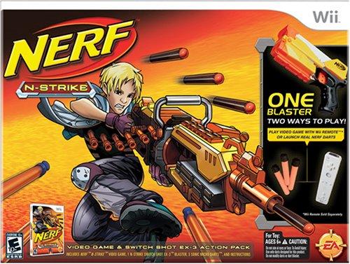 ナーフ エヌストライク アメリカ 直輸入 エリート 16798 【送料無料】Nerf-N-Strike Bundle - Nintendo Wiiナーフ エヌストライク アメリカ 直輸入 エリート 16798