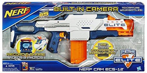 ナーフ エヌストライク アメリカ 直輸入 エリート A6572 Nerf N-Strike Elite Nerfcam ECS-12 Blaster by Hasbroナーフ エヌストライク アメリカ 直輸入 エリート A6572