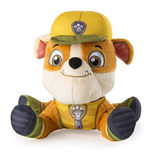 """パウパトロール アメリカ直輸入 英語 バイリンガル育児 おもちゃ 20074550 Paw Patrol, Jungle Rescue, 8"""" Plush, Rubbleパウパトロール アメリカ直輸入 英語 バイリンガル育児 おもちゃ 20074550"""