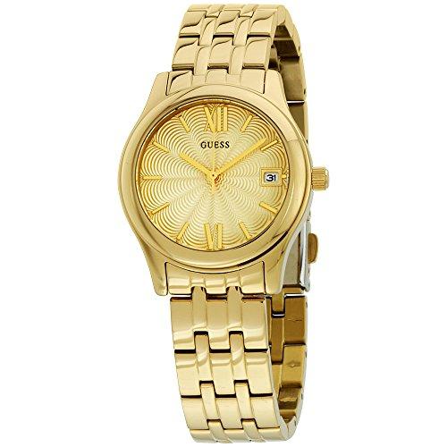 ゲス GUESS 腕時計 レディース W0769L2 Guess Champagne Dial Gold Tone Stainless Steel Ladies Watch W0769L2ゲス GUESS 腕時計 レディース W0769L2