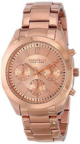 ブローバ 腕時計 レディース 44L115 Caravelle New York Women's 44L115 Analog Display Japanese Quartz Rose Gold Watchブローバ 腕時計 レディース 44L115