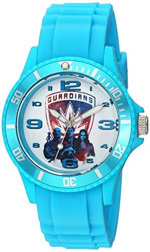 マーベルコミック アメコミ 腕時計 レディース WMA000102 Marvel Guardian Analog-Quartz Watch with Plastic Strap, Blue, 24 (Model: WMA000102マーベルコミック アメコミ 腕時計 レディース WMA000102