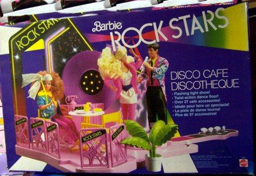 正規品販売! バービー (1986 バービー人形 日本未発売 プレイセット Action アクセサリ & 3080 Barbie and The Rockers DANCE CAFE 37 Piece Playset w FLASHING LIGHT SHOW & Twist Action DANCE FLOOR (1986 Mattel Hawthorne)バービー バービー人形 日本未発売 プレイセット アクセサリ 3080, 新品:45941074 --- canoncity.azurewebsites.net