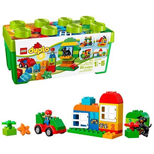 レゴ デュプロ 6059074 【送料無料】LEGO DUPLO All-in-One-Box-of-Fun Building Kit 10572 Open Ended Toy for Imaginative Play with Large LEGO bricks made for toddlers and preschoolers (65 Pieces)レゴ デュプロ 6059074