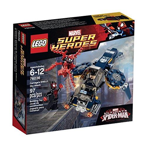 レゴ スーパーヒーローズ マーベル DCコミックス スーパーヒーローガールズ 6100903 LEGO Super Heroes 76036 Carnage's Shield Sky Attack Building Kitレゴ スーパーヒーローズ マーベル DCコミックス スーパーヒーローガールズ 6100903